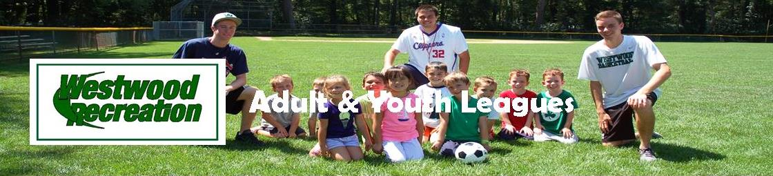 Adult & Youth Leagues Banner