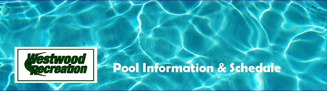 Pool Information and Schedule Banner