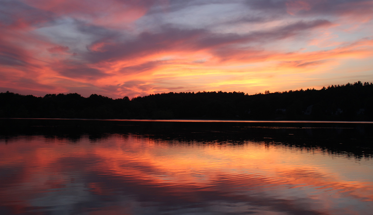 Buckmaster Pond Sunset